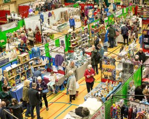 Kendal Wool Gathering at Kendal Leisure Centre